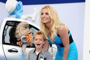 Celebs at the premiere of 'The Smurfs 2' in Los Angeles.