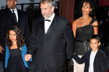 Photo of Luc Besson & his  Daughter  Satine Besson