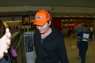 Tiesto Celebrities Are Seen at Salt Lake City Airport