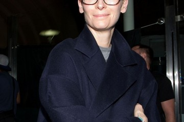 Tilda Swinton Tilda Swinton Arrives at LAX