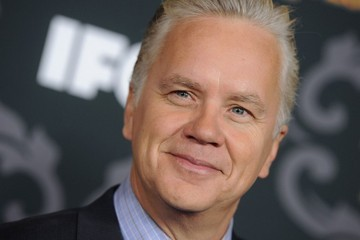 Tim Robbins Out for a Bike Ride