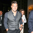 Tim Tebow Tim Tebow And Demi-Leigh Nel-Peters Outside Egyptian Theatre In Hollywood