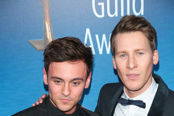 Tom Daley Dustin Lance Black The 2018 Writers Guild Awards L.A. Ceremony