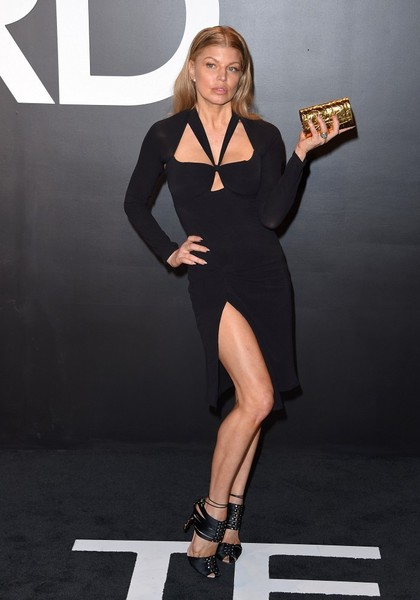 Celebs at the Tom Ford 2015 Womenswear Presentation