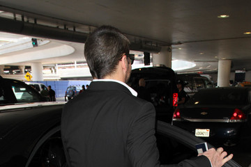 Tom Ford Tom Ford is Seen at LAX