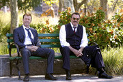 Donnie Wahlberg and Tom Selleck Photos Photo