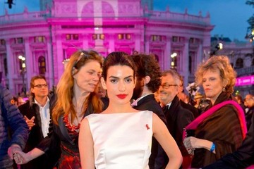 Tonia Sotiropoulou Red Carpet Arrivals at the Life Ball