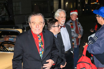 Tony Dow Jerry Mathers and Tony Dow Outside the Hollywood Christmas Parade
