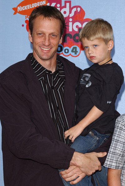 Photo of Tony Hawk & his  Son  Spencer Hawk