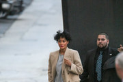 Tracee Ellis Ross at 'Jimmy Kimmel Live'