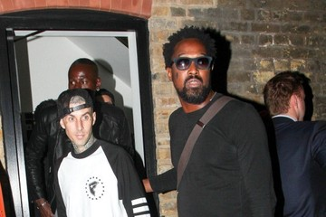 Travis Barker Celebs at Chiltern Firehouse — Part 2