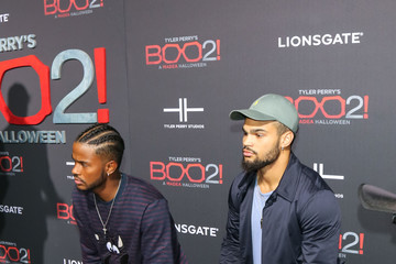 Trevor Jackson Premiere of Lionsgate's 'Tyler Perry's Boo 2! A Madea Halloween'