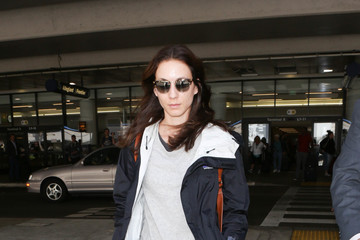Troian Bellisario Troian Bellisario Is Seen at LAX