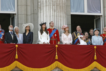 Prince Michael Of Kent Sophie Rhys-Jones Trooping The Colour for the Queen 1