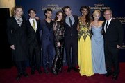 14/11/2012. 'The Twilight Saga Breaking Dawn Part 2' UK Premiere at The Odeon Leicester Square.Pictured: Jamie Campbell Bower, Wyck Godfrey, Taylor Lautner, Kristen Stewart, Robert Pattinson, Judi Shekoni, MyAnna Buring and Bill Condon .