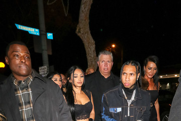 Tyga Tyga Outside Delilah Nightclub In West Hollywood