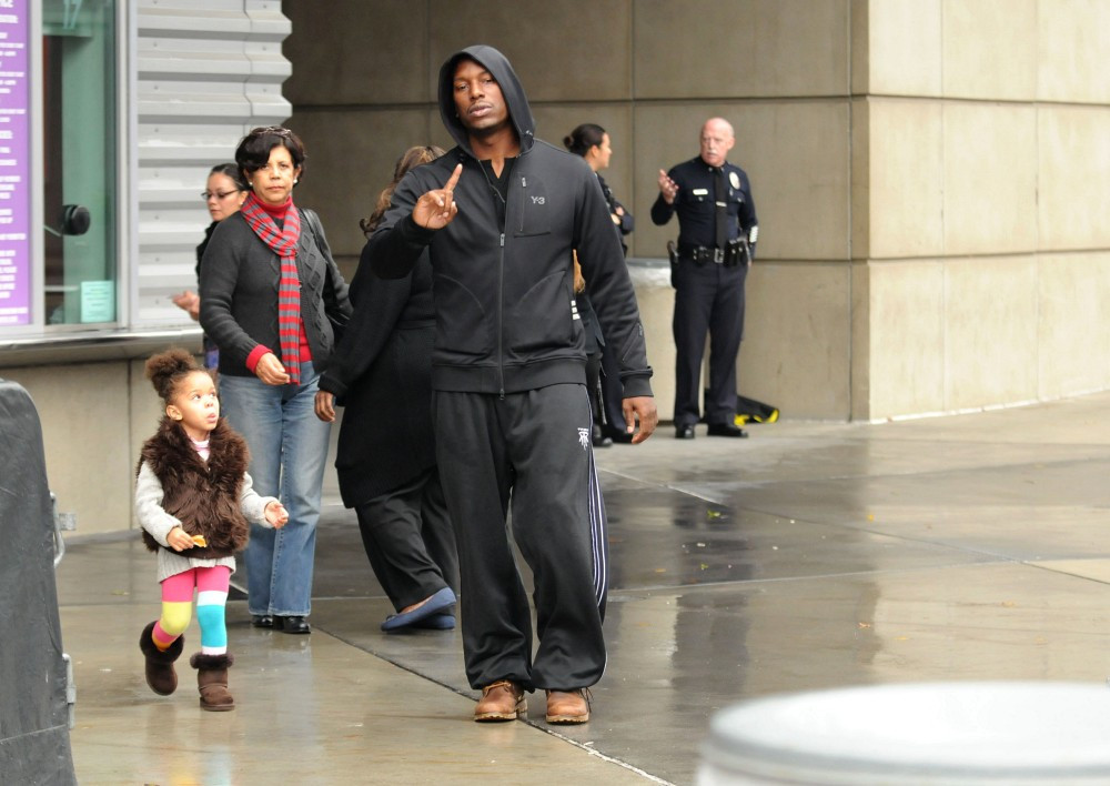 Tyrese Gibson Kids Tyrese Gibson Tyrese Out
