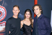 Christopher Landon, Rachel Matthews and Blaine Kern are seen attending Universal Pictures Special screening of 'Happy Death Day 2U' at ArcLight Hollywood in Los Angeles, California.