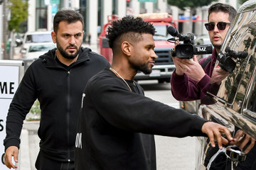 Usher Usher Out And About In Beverly Hills