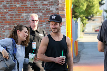Val Chmerkovskiy Celebrity Sightings at 'Dancing With the Stars' Rehearsal Studio