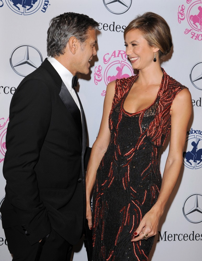 Stacy Keibler Photos Photos   Valentine Kisses 2013   Zimbio