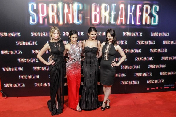 'Spring Breakers' Premieres in Madrid