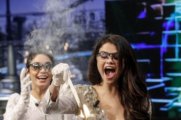 Vanessa Hudgens Selena Gomez Vanessa Hudgens and Selena Gomez in Madrid