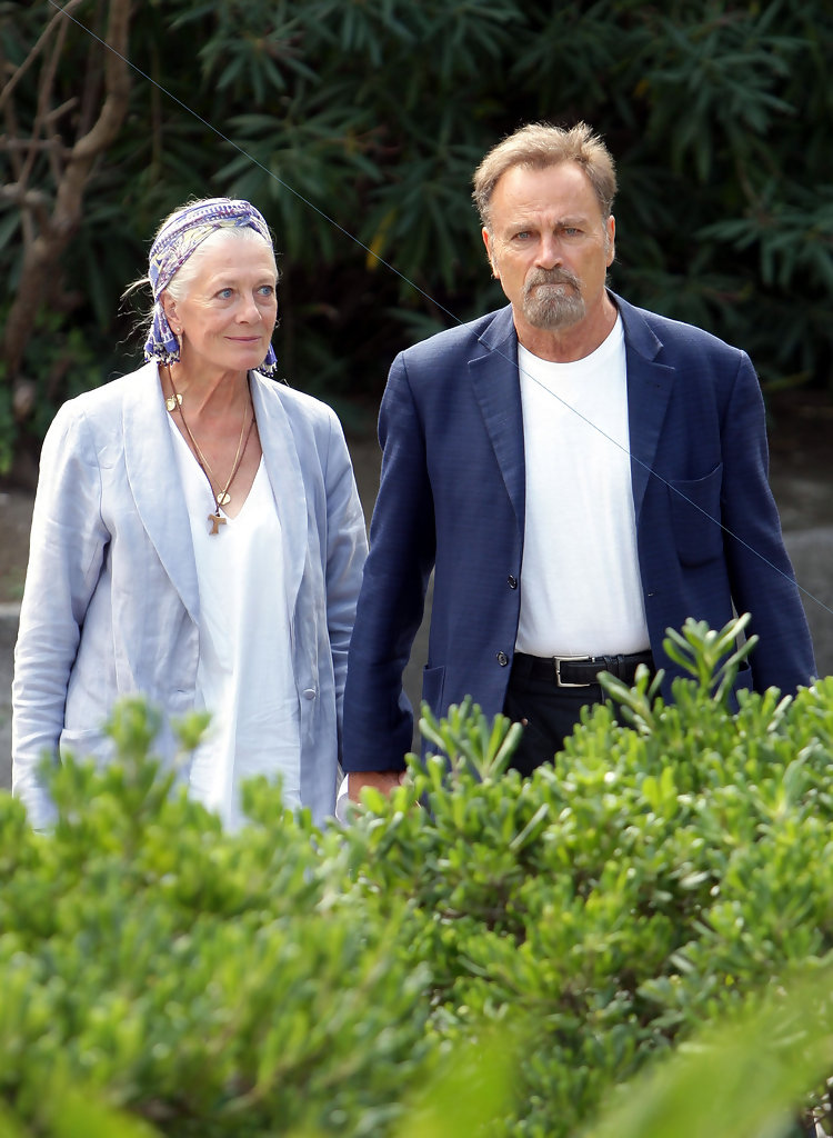 Franco Nero Photos Photos Vanessa Redgrave At The Venice