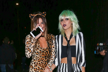 Victoria Justice Madison Justice Celebrities Attend Just Jared's Annual Halloween Party