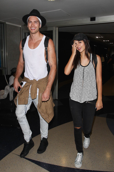 Victoria Justice and Pierson Fode Step into LAX