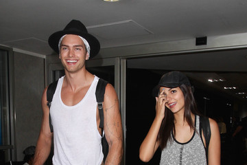 Victoria Justice Pierson Fode Victoria Justice and Pierson Fode Step into LAX