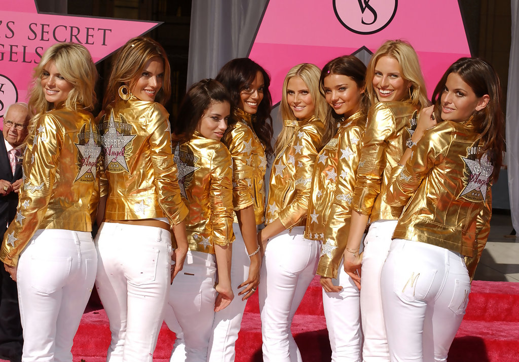 The victorias secret angels