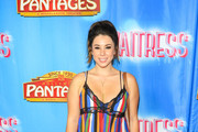 Jillian Rose Reed is seen attending 'Waitress' Broadway Opening Night at Pantages Theatre in Los Angeles, California.