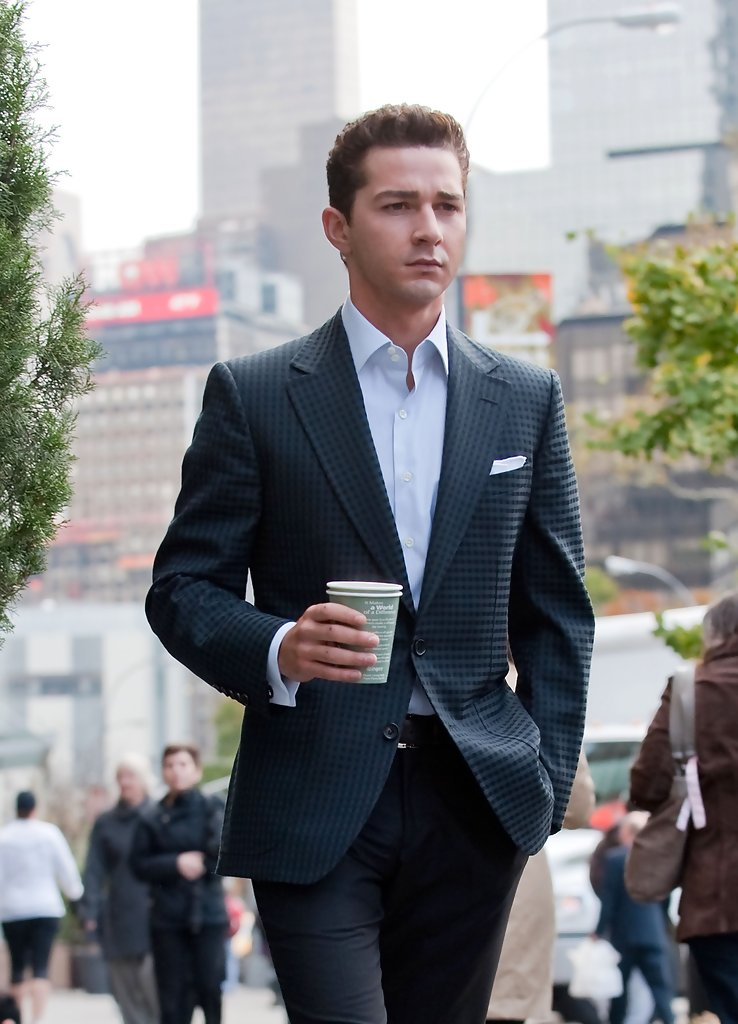 Shia Labeouf In Quot Wall Street 2 Quot In The Upper West Side