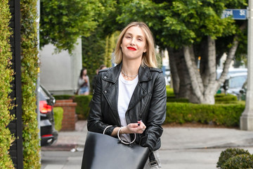 Whitney Port Whitney Port Hits The Town