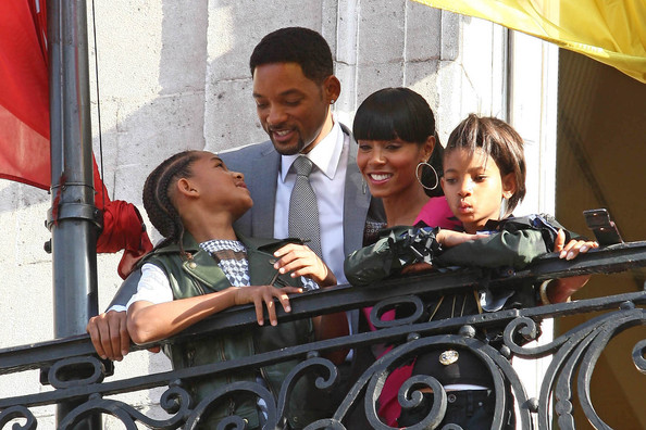 will smith and family. Will Smith and Family at a
