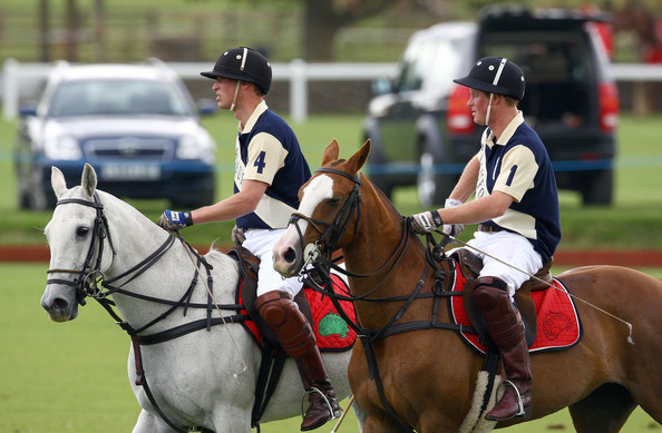 prince william and harry polo. Prince William and Prince