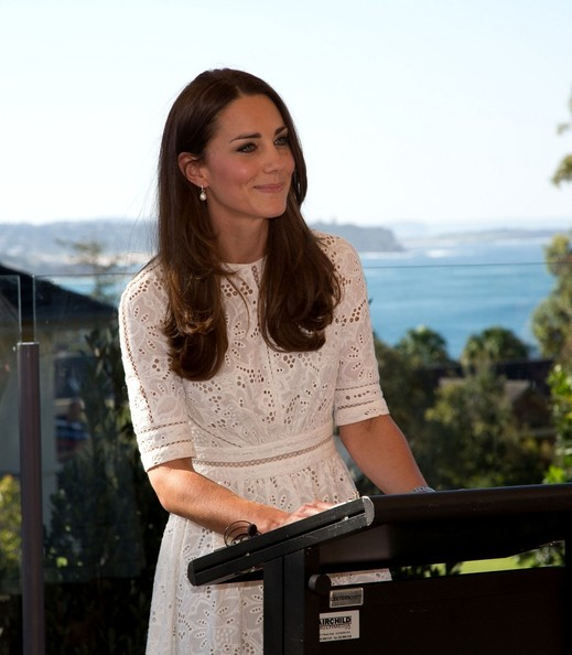 Duke and Duchess of Cambridge on their tour of New Zealand and Australia visit Bear Cottage Children's Hospice, Manly, Sydney.