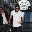William Levy William Levy Hits LAX