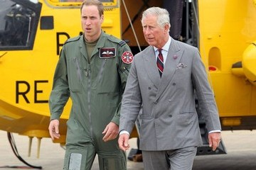 Prince William Prince Charles William Gives Charles a Tour