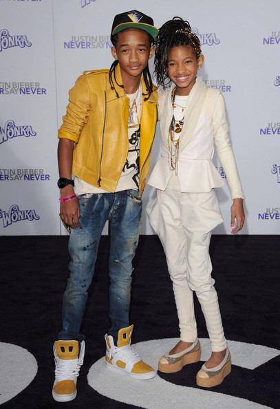 jaden smith and justin bieber 2011 pictures. Jaden Smith and Willow Smith