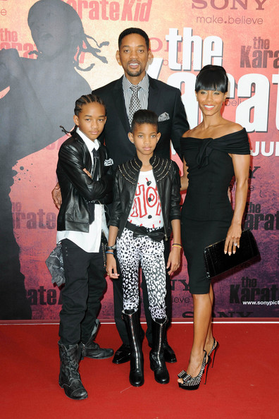 "Jaden Smith and Willow Smith - ""The Karate Kid"" in Paris"