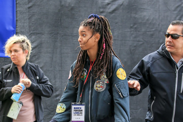 Willow Smith Willow Smith Marches In L.A.