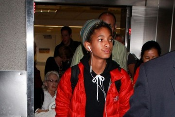 Willow Smith Willow Smith Arrives at LAX
