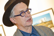 Wim Wenders is seen at Exhibition opening 'Early Photographs 1963-1983' and retrospective at Film Archive Austri at the Metro Kinoulturhaus .