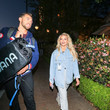 Chris Mazdzer and Witney Carson