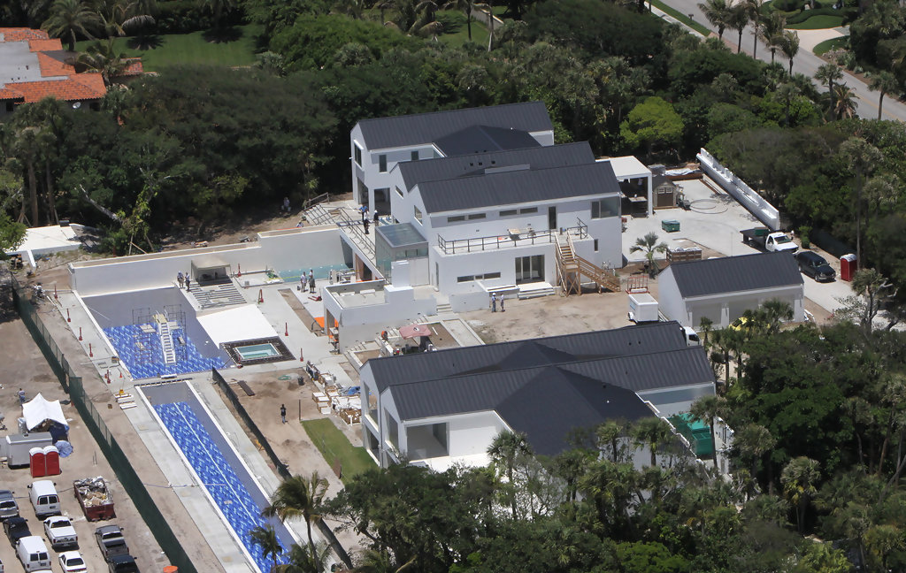 Tiger Woods 39 Home Still Being Renovated Zimbio