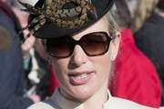 Zara Phillips at the Cheltenham Festival