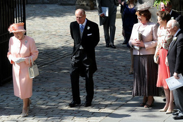 Queen Elizabeth II Princess Anne Royal Wedding of Zara Phillips to Mike Tindall