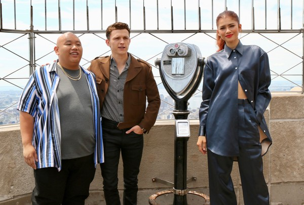 Stars Of 'Spider-Man: Far From Home' At The Empire State Building